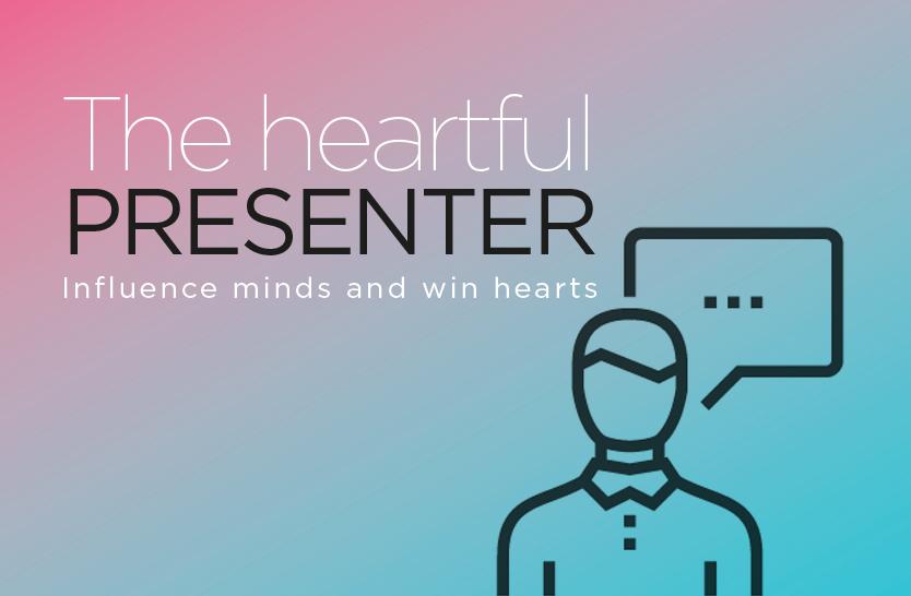 The heartful presenter