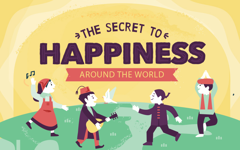 The secret to happiness around the world