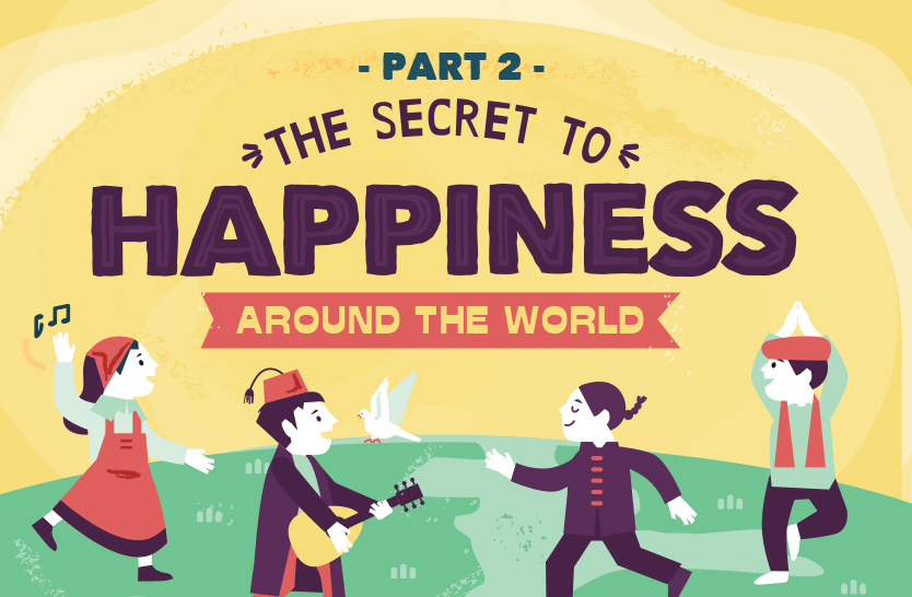 The secret to happiness around the world – part 2