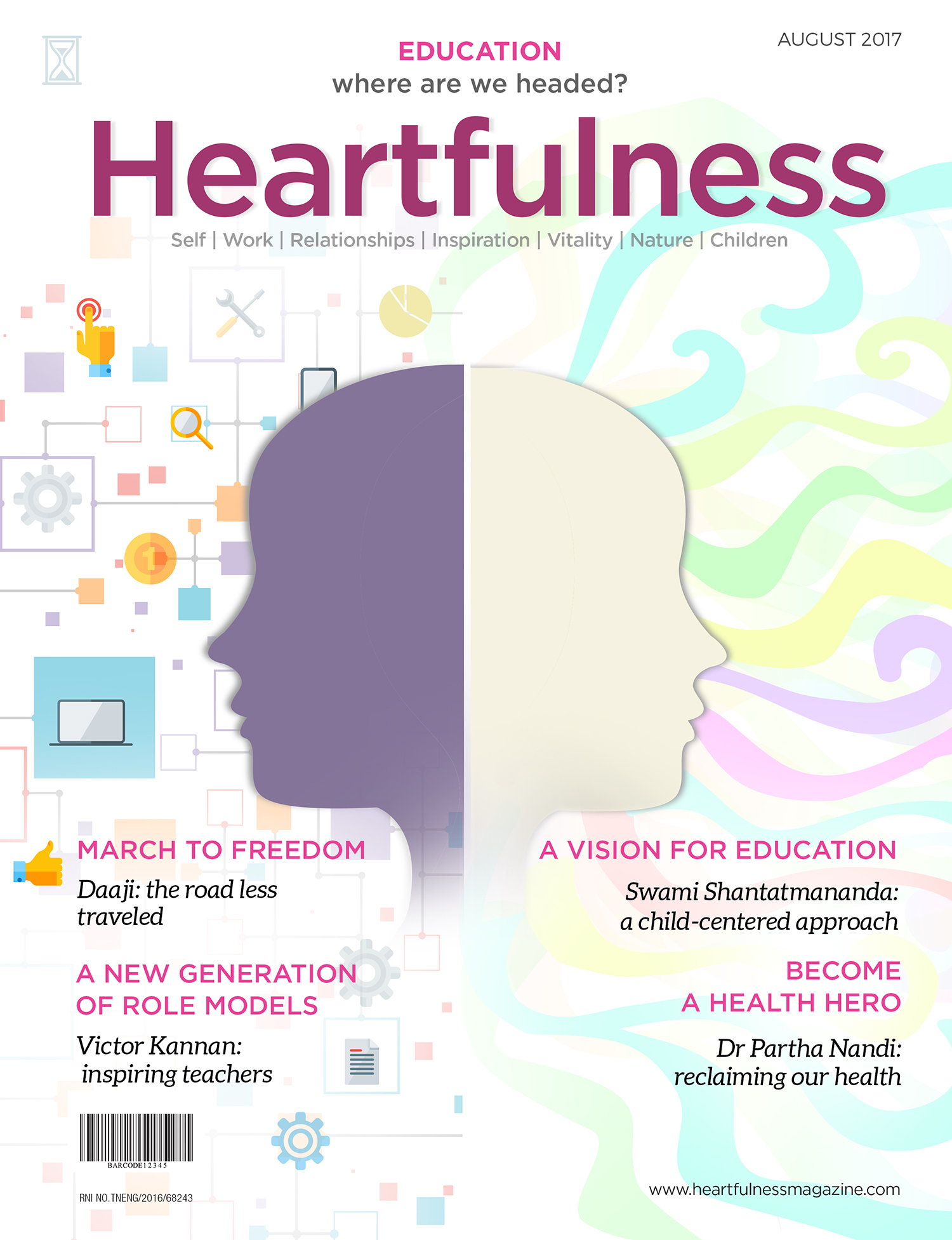 Heartfulness eMagazine - August 2017