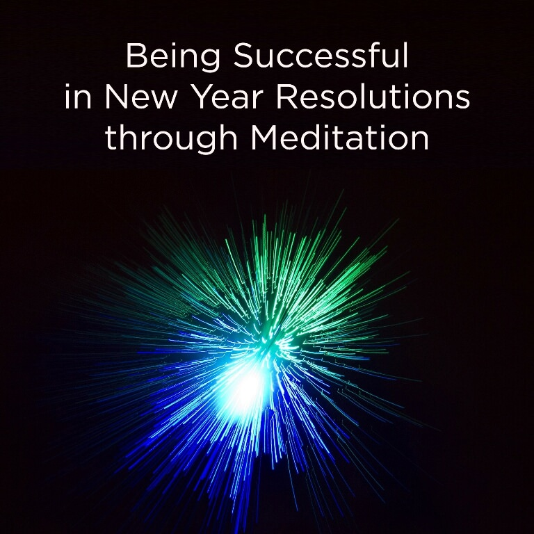Diamonds Are Forever – Being Successful in New Year Resolutions through Meditation
