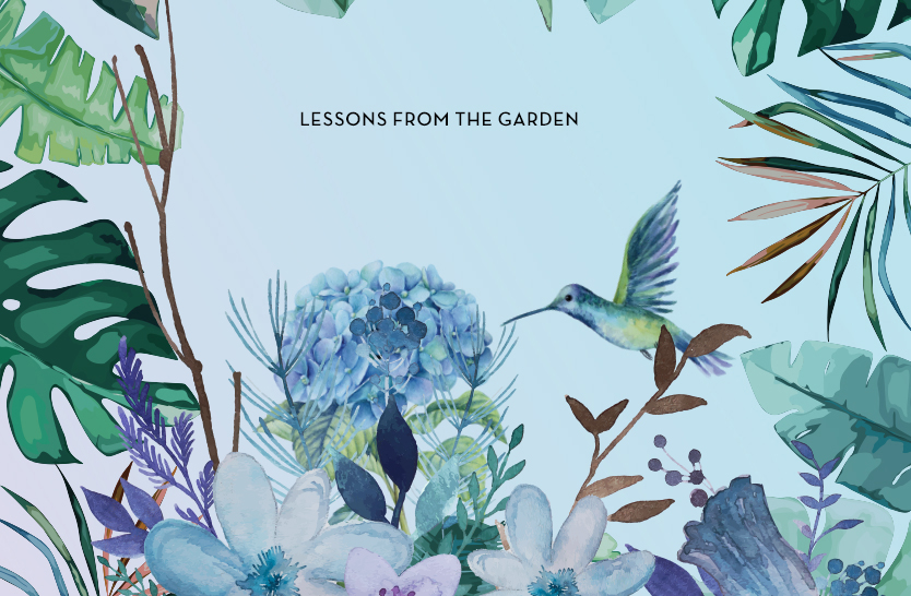Listening in the garden – lessons from the garden