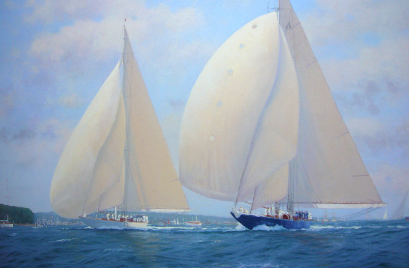 Sailing high – an art essay